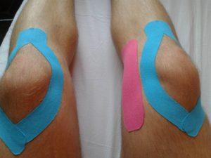 Kinesiotaping - plastry na nogach